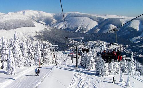 Самый высокий горный массив: курорт Крконош