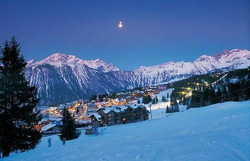 Куршевель - самое популярное горное направление Франции