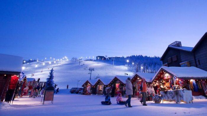 Горнолыжные курорты Финляндии - активный отдых в спокойной обстановке