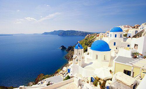 Греция: курорт-остров Санторини