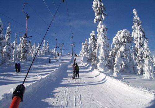 Финляндия и ее популярный зимний регион - Рука
