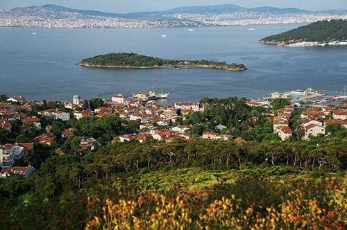 Окрестности Стамбула - Принцевы острова