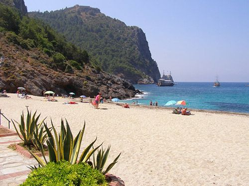 Места для императрицы: Cleopatra beach