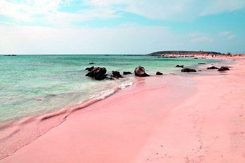 Розовая береговая линия: Элафониси