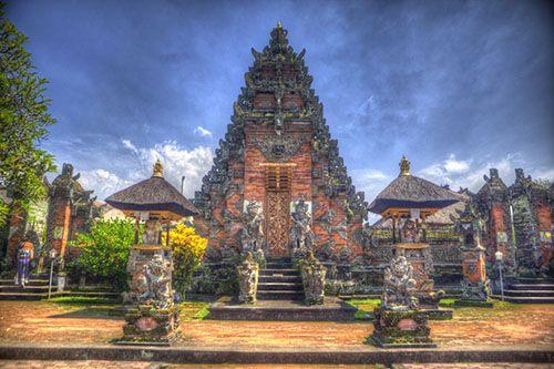 Храм в Деревне Тенганан - Пура Пусех