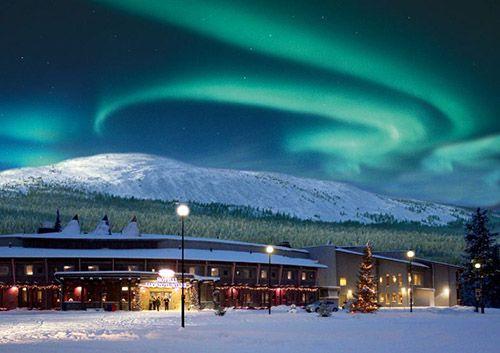 Финский зимний курорт из двух гор: Пухя-Луосто