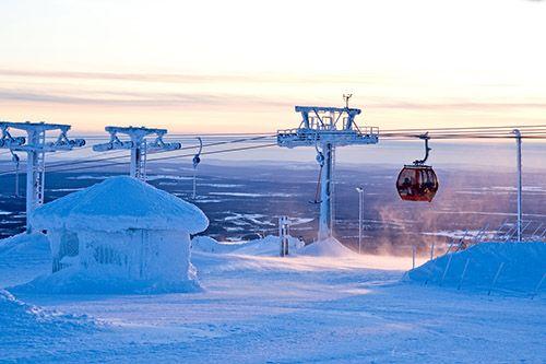 Горнолыжный курорт с 50-летней историей: зимний Юлляс