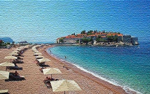 Морские курорты Монтенегро