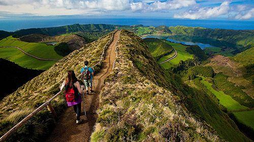 Азорские острова пешеходные трассы