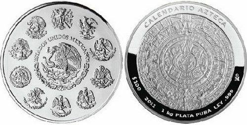 Мексиканская памятная монета 2005 год