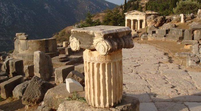 На территории были обнаружены руины древнего неизвестного города