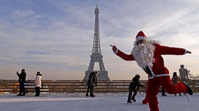 Самая большая крытая арена для катания на коньках открыта в Париже