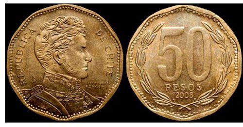 Чилийский 50 песо