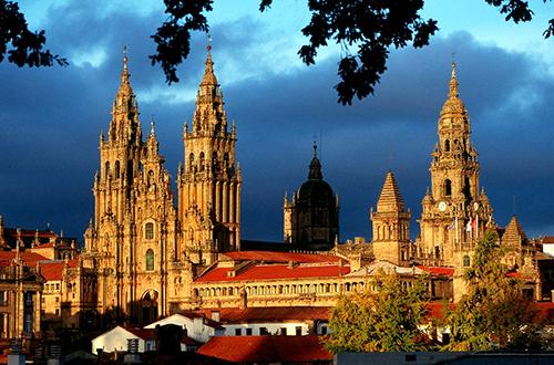 Здания и постройки: кафедральный собор в Сантьяго-де-Компостела