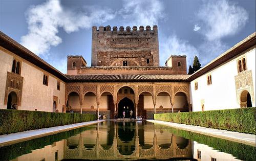 Регион Гранада, крепость Альгамбра
