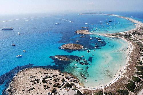 Балеарские острова: пляжи Форментеры