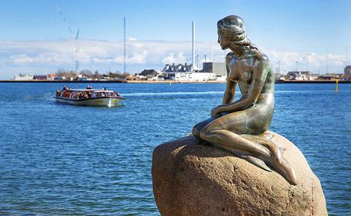 русалка Копенгаген