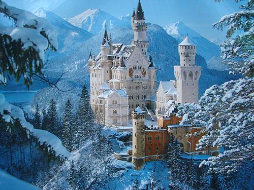 Нойшванштайн - баварские красоты