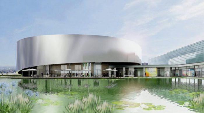 Огромный крытый аквариум достроен в швейцарском Лозанне