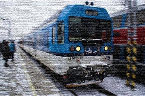 Поезд из Праги в Есеники