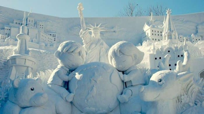 В Саппоро пройдет самый большой снежный фестиваль