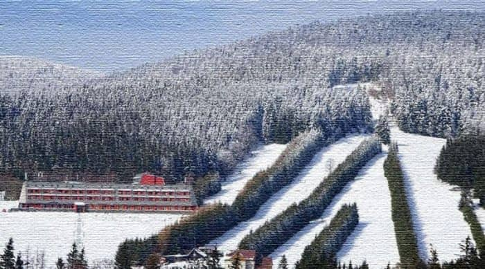 Курорт Рамзова - спуски на чешской горе Шерак