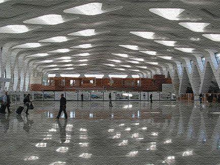 Аэропорт в Манере