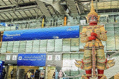 Аэропорт в Таиланде