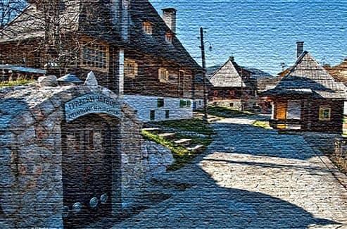 Достопримечательности в Сербии
