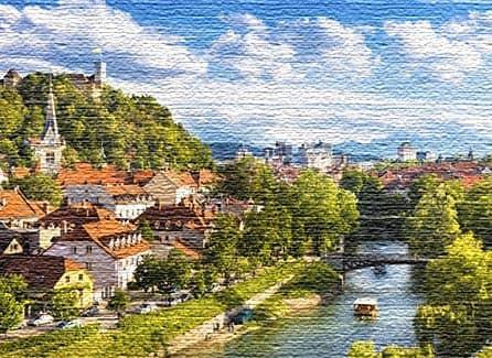Достопримечательности в столице Словении