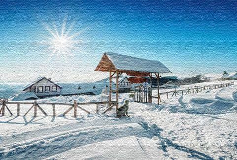 Горнолыжный курорт в Македонии