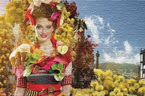 Город Фуншал - цветочная выставка на Мадейре