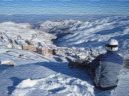 Лыжное катание в Испании