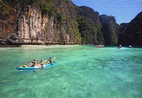 Морские курорты Таиланда