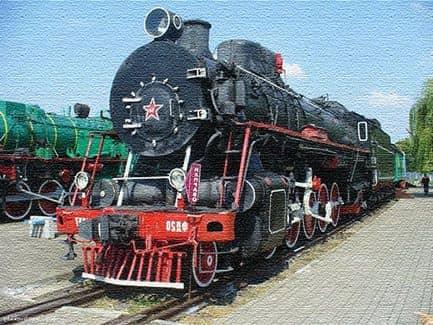 Музей поездов в Бресте