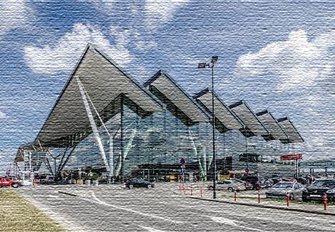 Новый аэропорт в Польше