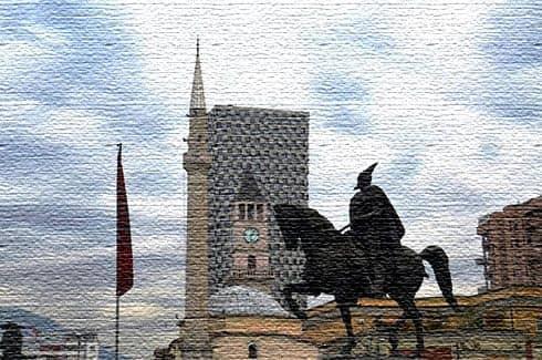 Памятник Георгию Кастриоти
