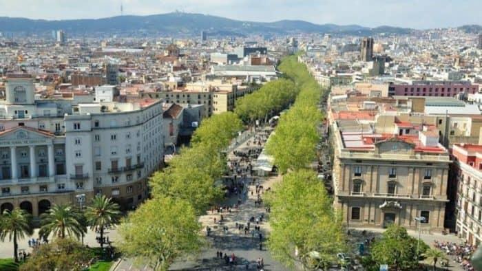 Пешеходная улица Рамбла в Барселоне будет отреставрирована