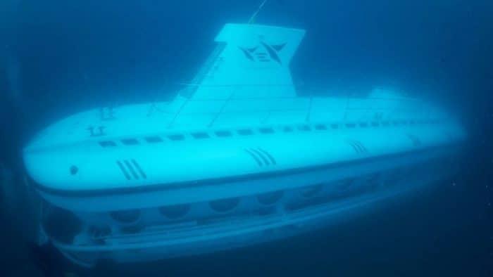 Подводные экскурсии появятся в Турции на южном побережье страны