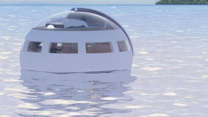 В Японии появится плавающие капсулы для проживания