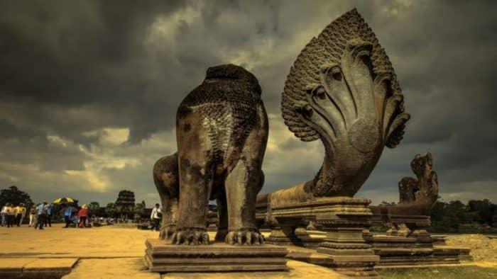 Введение ограничений для посещения туристического комплекса Ангкор Ват