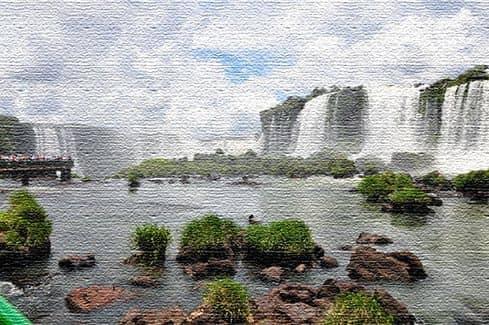 Достопримечательности Бразилии - Игуасу