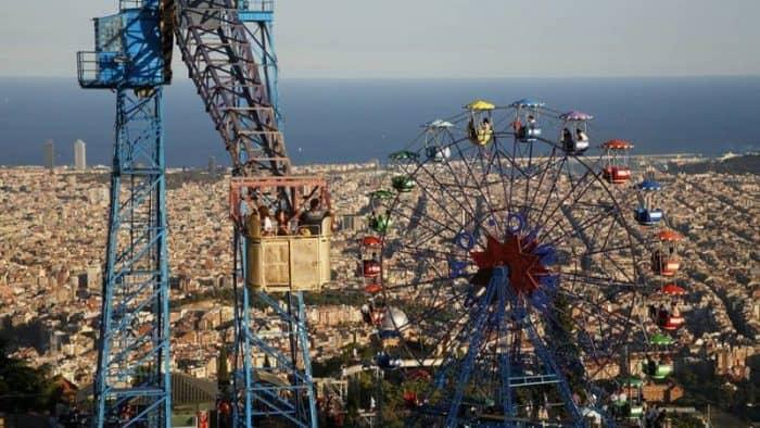 Фуникулер Тибидабо в Барселоне закроется на реконструкцию