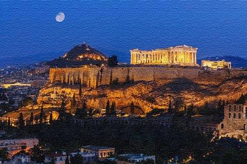 Греческие достопримечательности