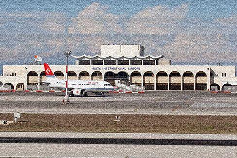 Интернациональный аэропорт на Мальте
