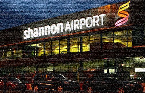 Ирландский аэропорт в Дублине