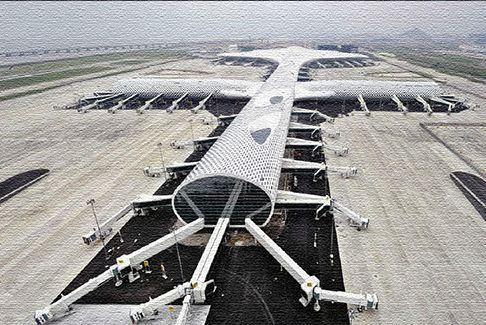 Международный аэропорт в Женшене