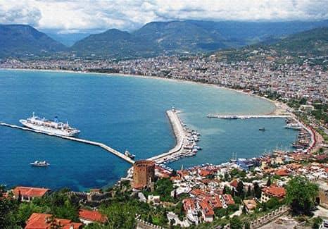Морские курорты Турции
