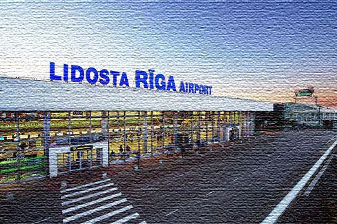 Аэропорт в Латвии, Рига