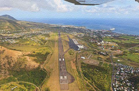 Аэропорт в Сент Китсе и Невисе